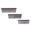 Wood Shelves w/Galvanized Fronts - E.T. Tobey Company