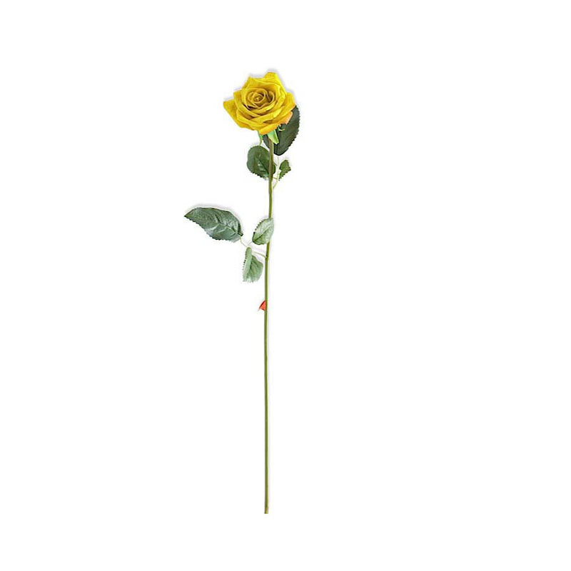 Real Touch Rose Stem with Foliage - E.T. Tobey Company