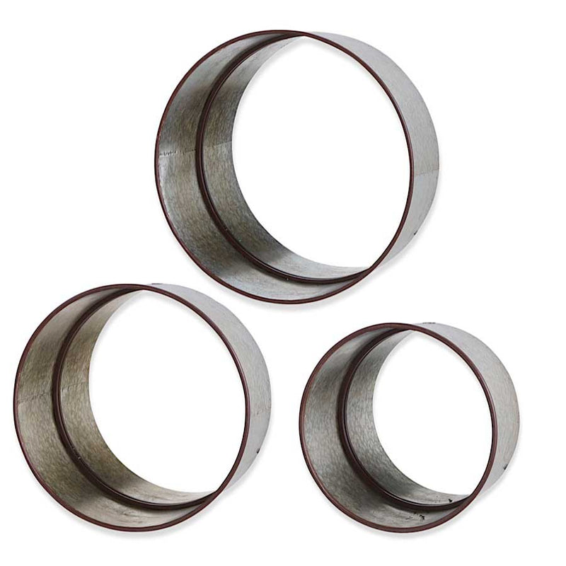 Round Metal Mirrors - ettobey