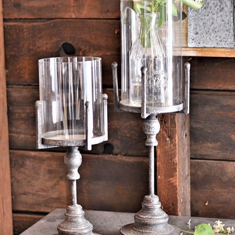 Glass Pillar Stand