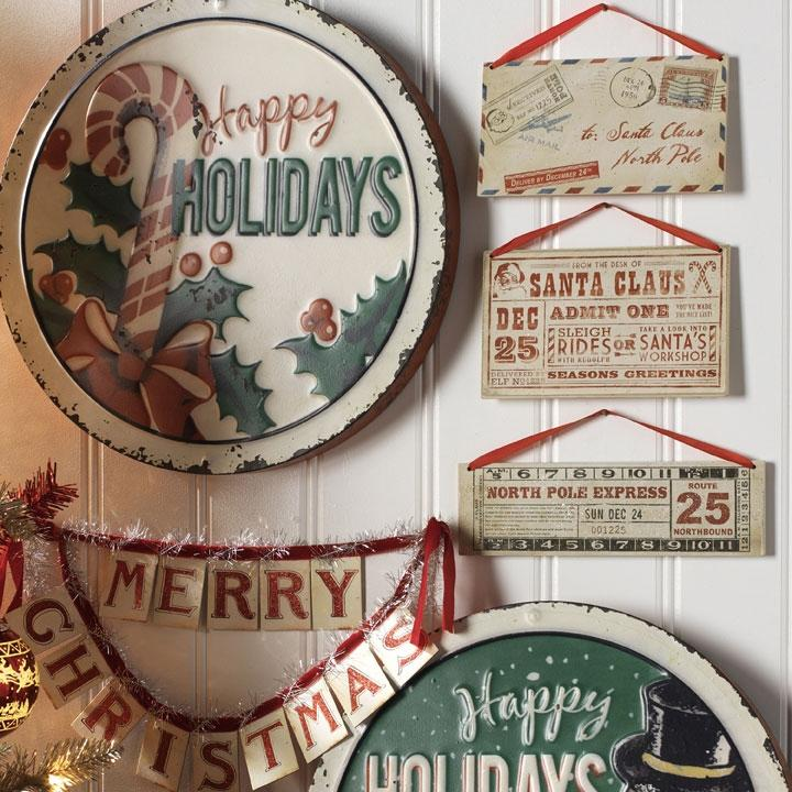 Santa Ticket & Letter Ornament