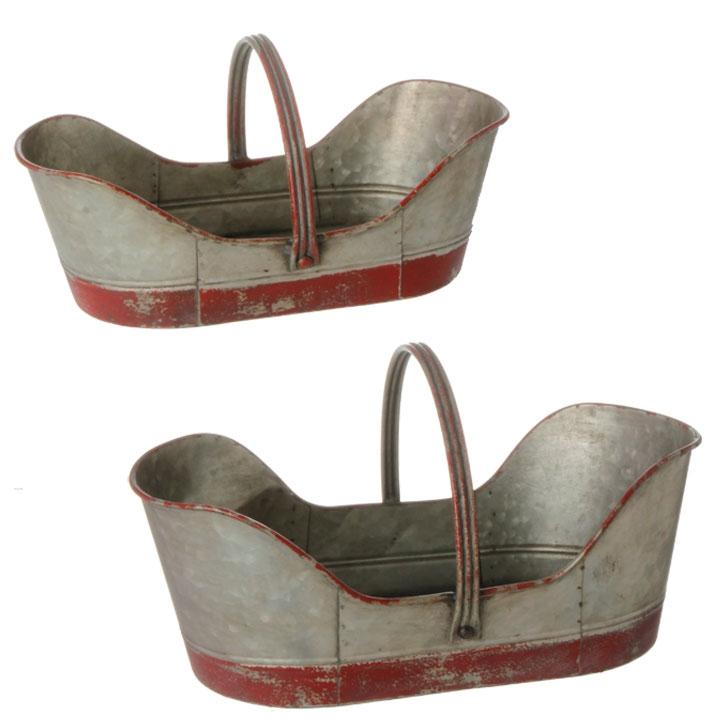 Metal Handle Baskets