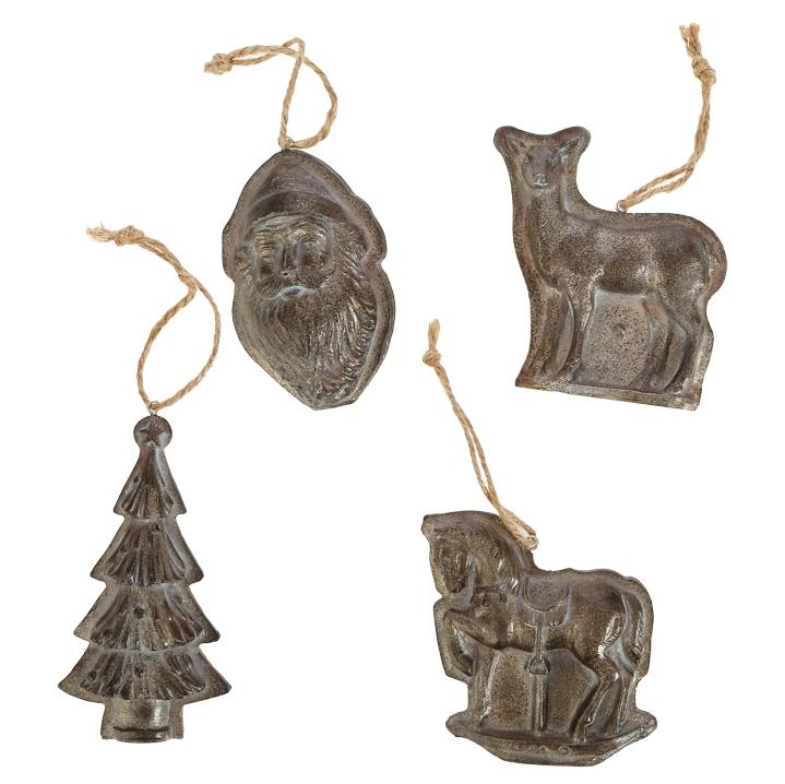 Candy Mold Ornaments