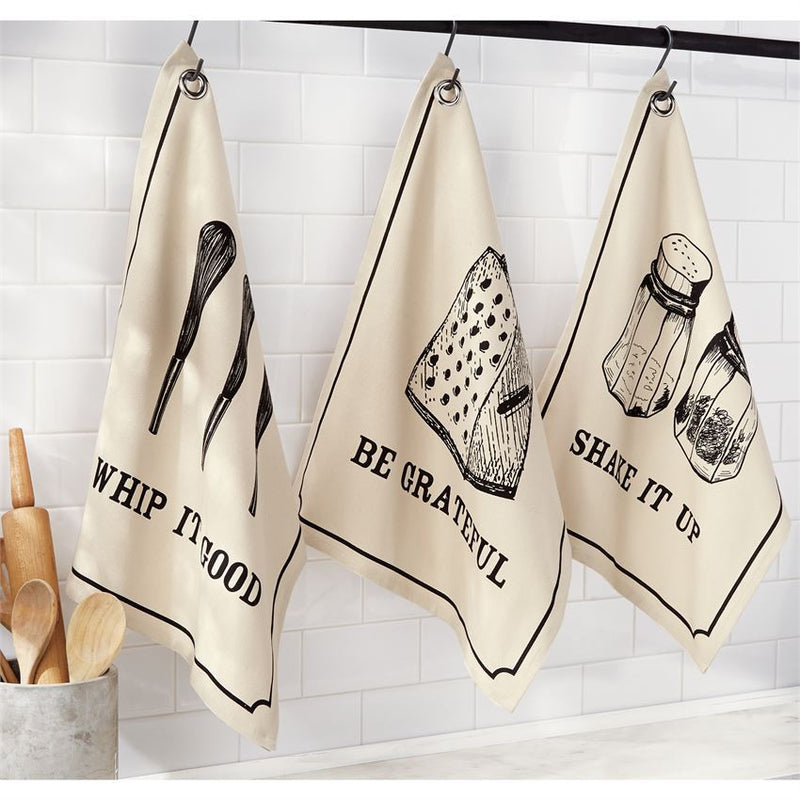 Bistro Grain Sack Towels - E.T. Tobey Company
