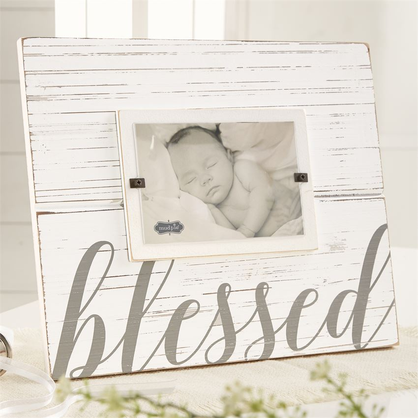 Blessed Picture Frame - baby gift