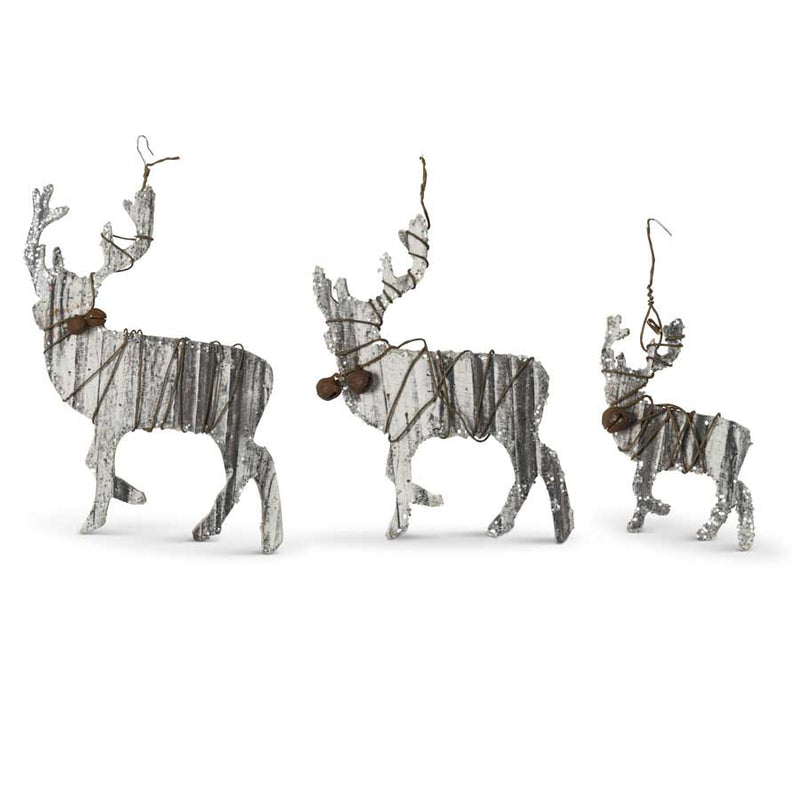 Wood & Wire Ornaments