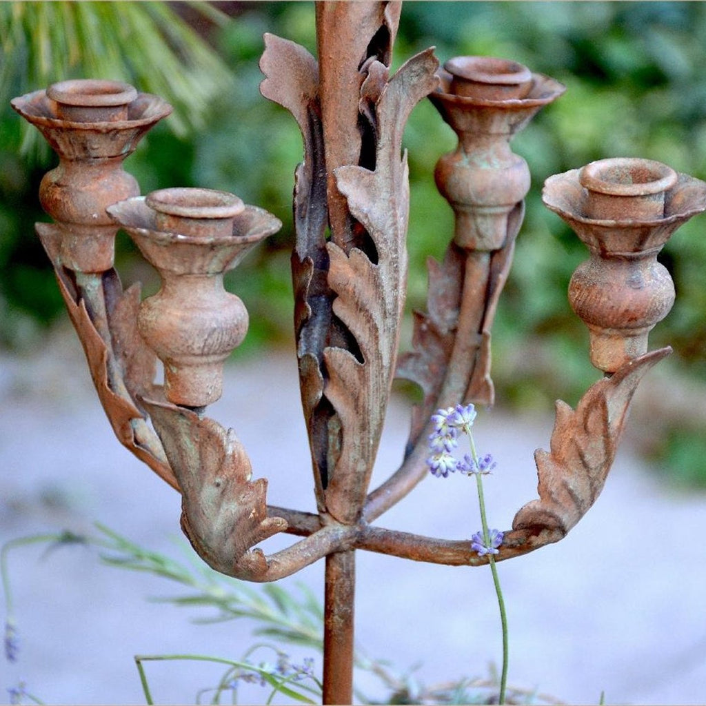 Acanthus Leaf Candelabra - E.T. Tobey Company