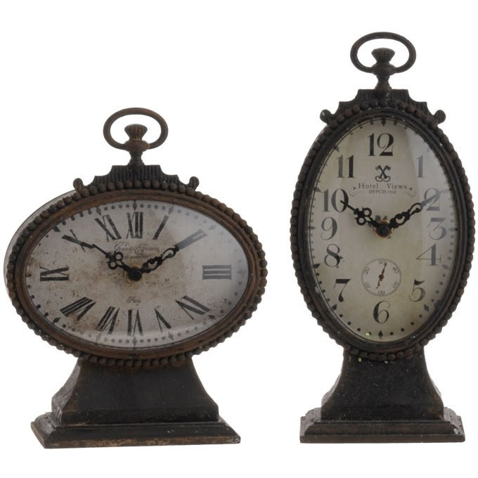 Antique Clock - E.T. Tobey Company