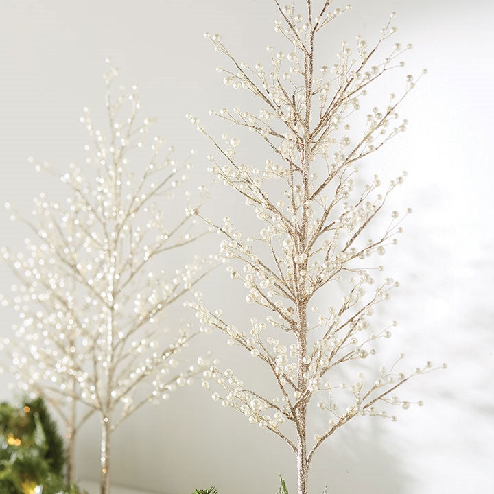 Glitter Tree with Pearls