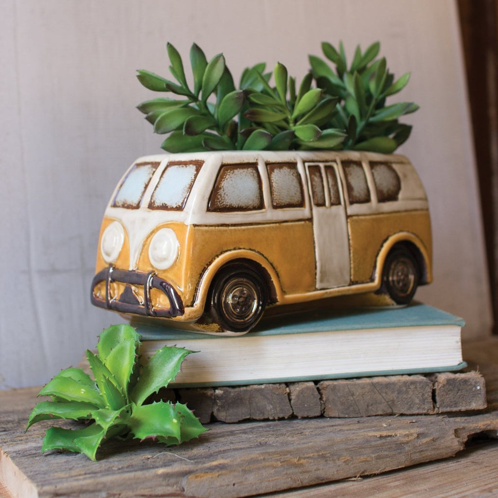 Ceramic Van Planter
