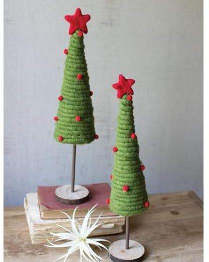 Coiled Felt Tree