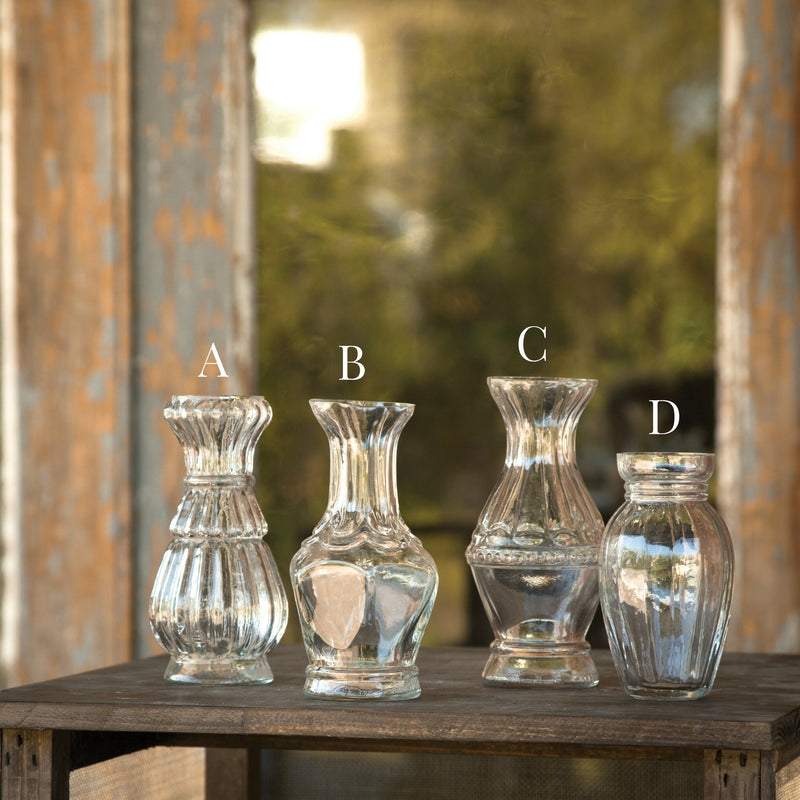 Church Lady Glass Succulent Vases - Fixer Upper Style - ET Tobey & Company
