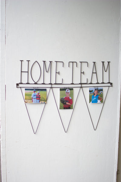 Home Team with Photo Clips