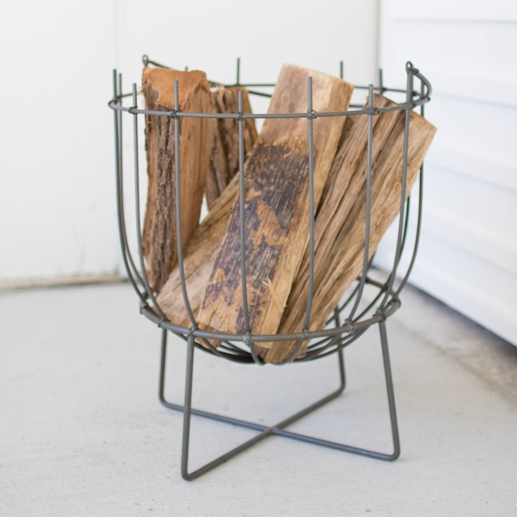 Metal Firewood Basket