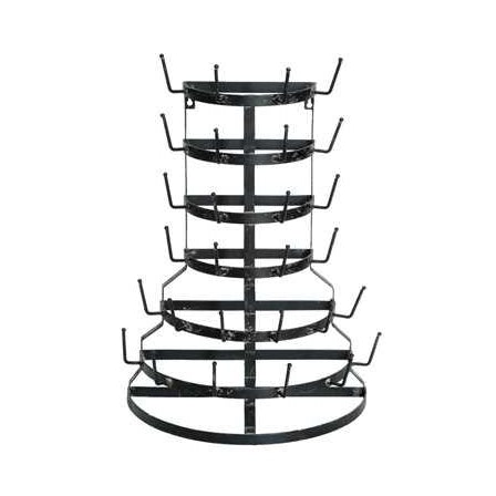 Metal Half Round Bottle Drying Rack - E.T. Tobey Company - fixer upper style