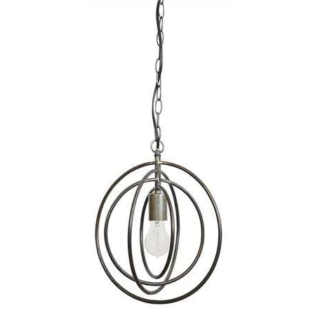 Metal Circle Shaped Pendant Lamp - E.T. Tobey Company