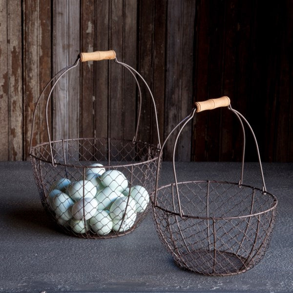 Round Wire Baskets