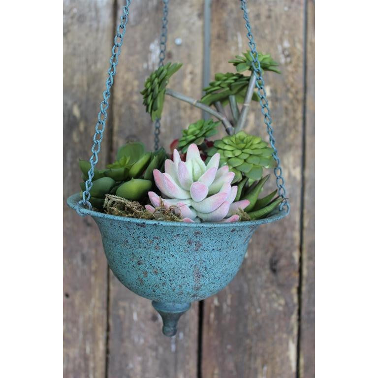 Hanging Relic Chained Planter - E.T. Tobey Company