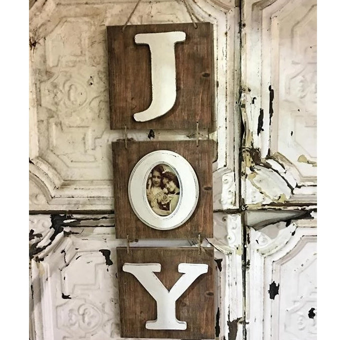 Hanging Vertical Joy Sign - E.T. Tobey Company