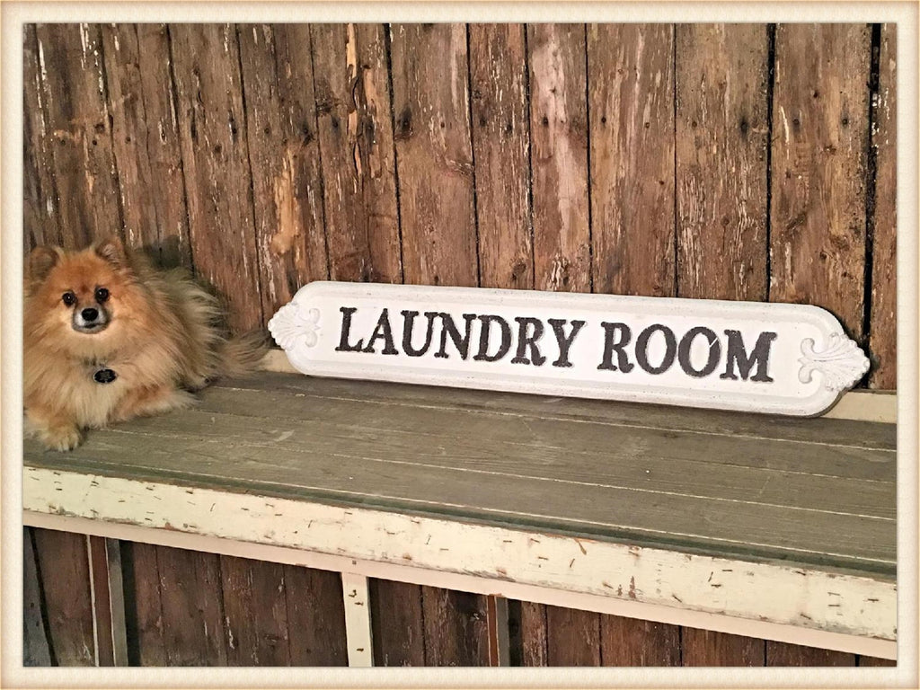 Laundry Room Plaque - E.T. Tobey Company - Farmhouse decor