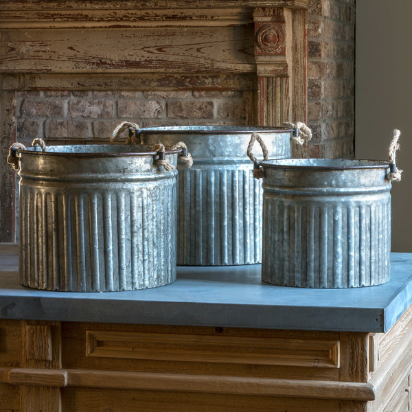 Metal Can Planters - Farmhouse find