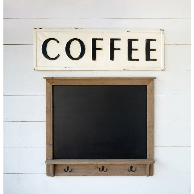 Metal Coffee Sign - e.t. tobey company