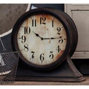 Small Black Mantle Clock - E.T. Tobey Company