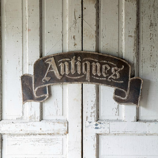 Metal Antique Sign Banner - farmhouse style