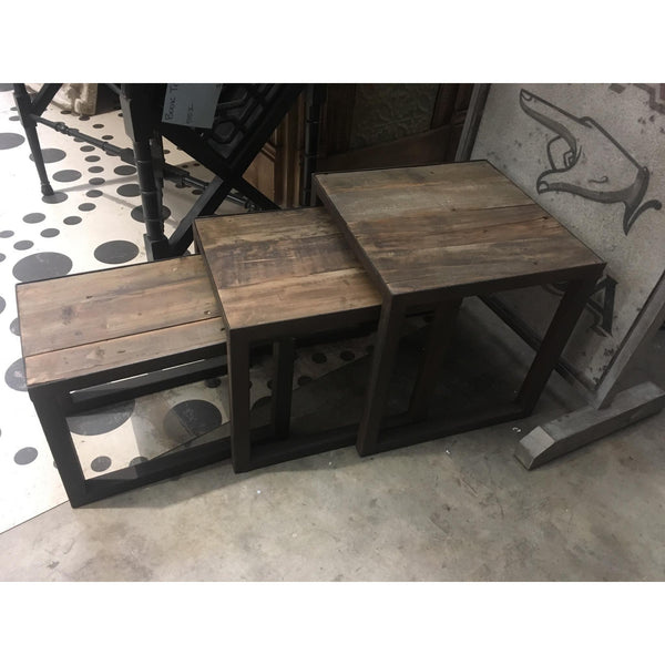 Small Rustic Nesting Tables