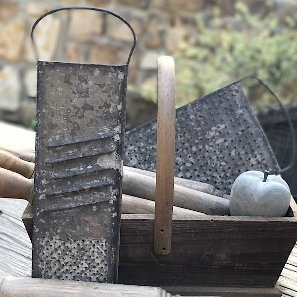 Old Grater Relics - E.T. Tobey Company