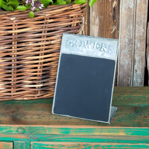 Free Standing Flower Blackboard - fixer upper - joann gaines