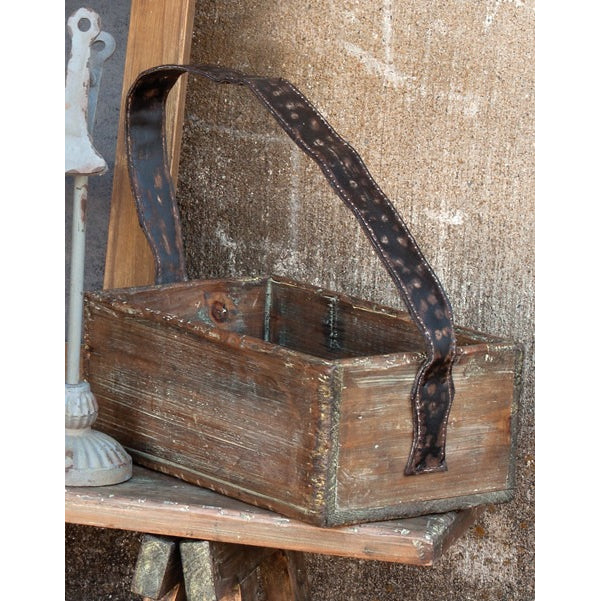 Primitive Shoe Shine Box - E.T. Tobey Company
