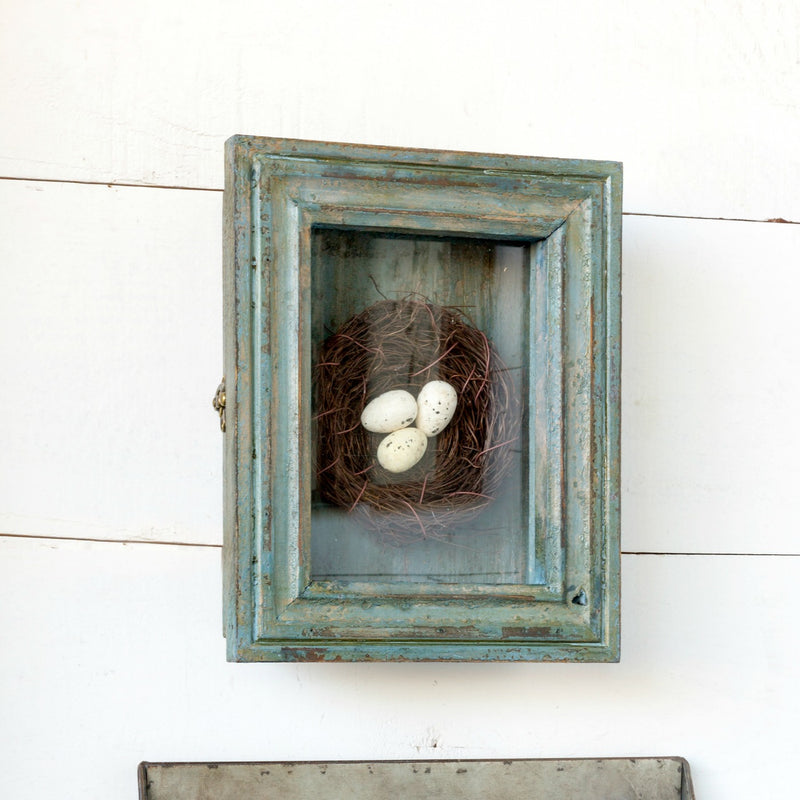 Painted frame nest box - e.t. tobey company