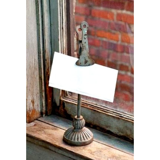 Metal Clip Sign Holder - E.T. Tobey Company