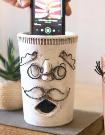 Big Mouth Clay & Betty Wire Smart Phone Speaker