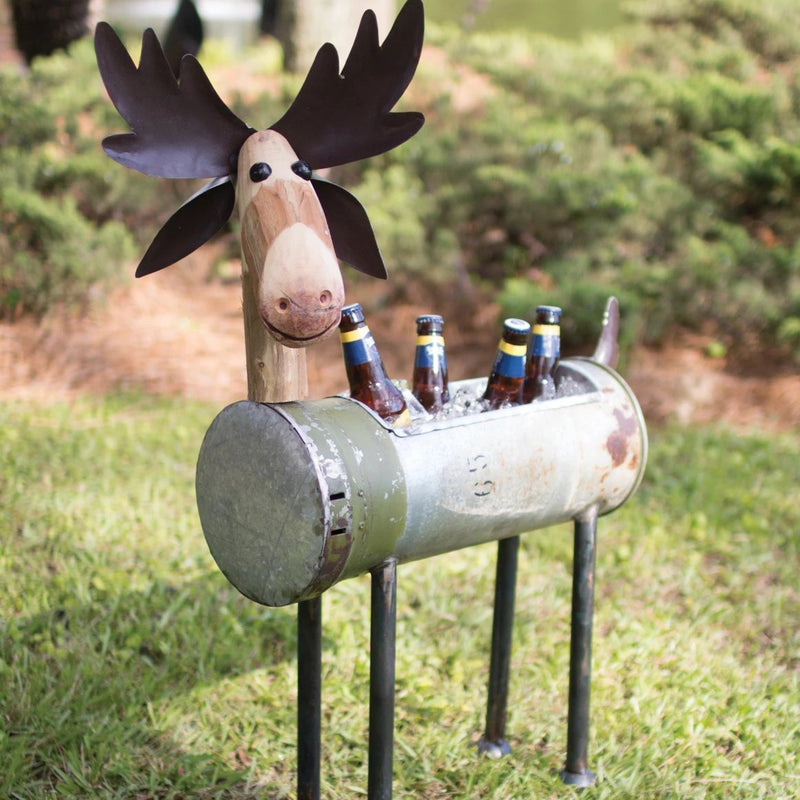 Repurposed Military Canister Moose Cooler