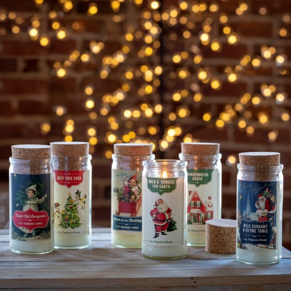 Christmas Spice Jar Candles