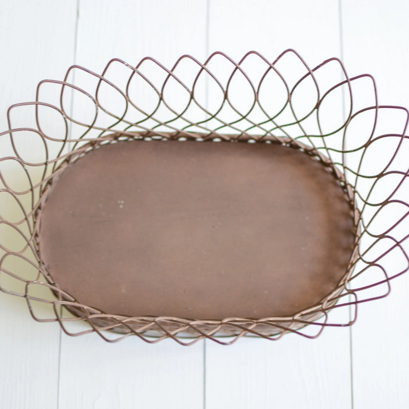 Nested French Wire Basket - E.T. Tobey Company