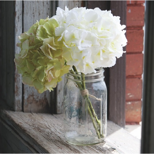 Cream & Green Hydrangea Bundle - E.T. Tobey Company
