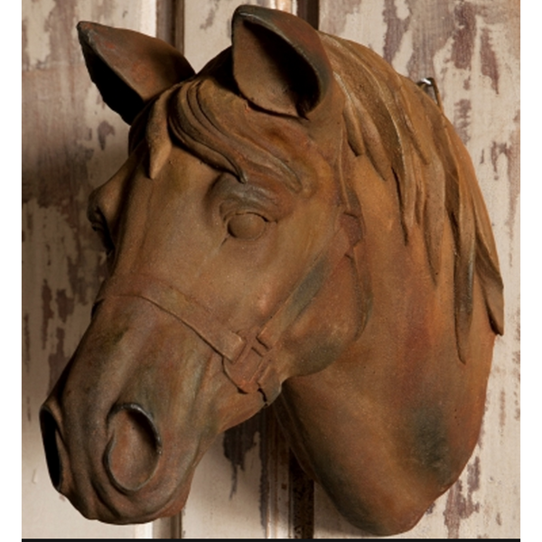 Estate Stone Horse Head - E.T. Tobey Company