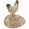 Rise & Shine Metal Sign - E.T. Tobey Company