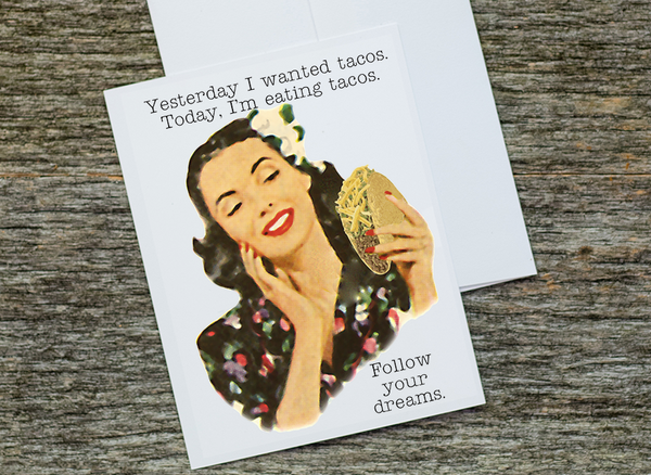 Funny Food Cards