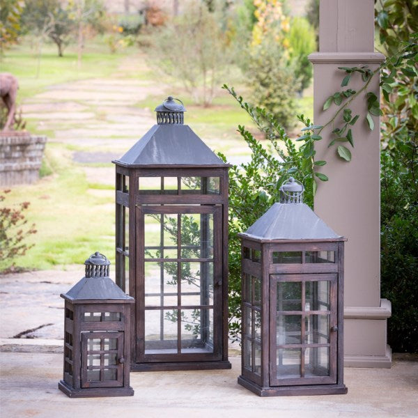 Transom Window Lanterns