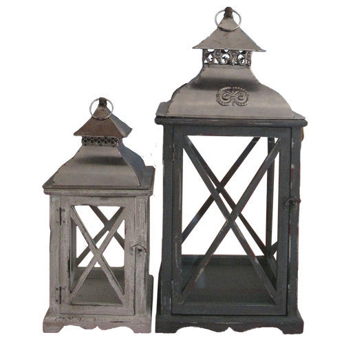 Wooden Antique Lantern - E.T. Tobey Company