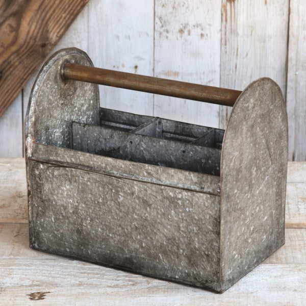 Galvanized Tool Caddy