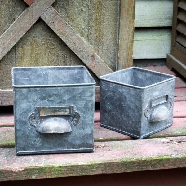 Metal Bin Drawer Boxes - ettobey