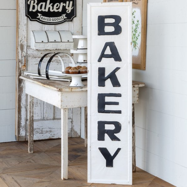 Metal Bakery Sign