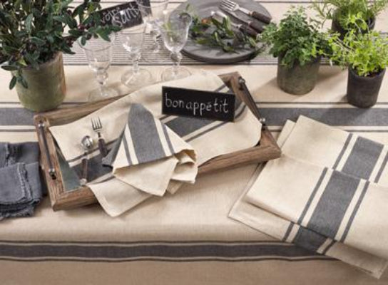 Banded Design Table Napkin