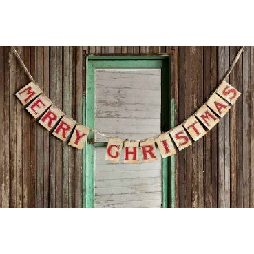 Merry Christmas Card Banner - E.T. Tobey Company