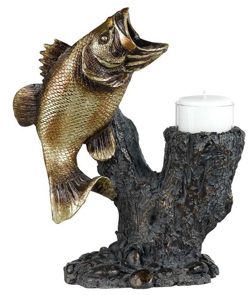 Bass Candle Holder
